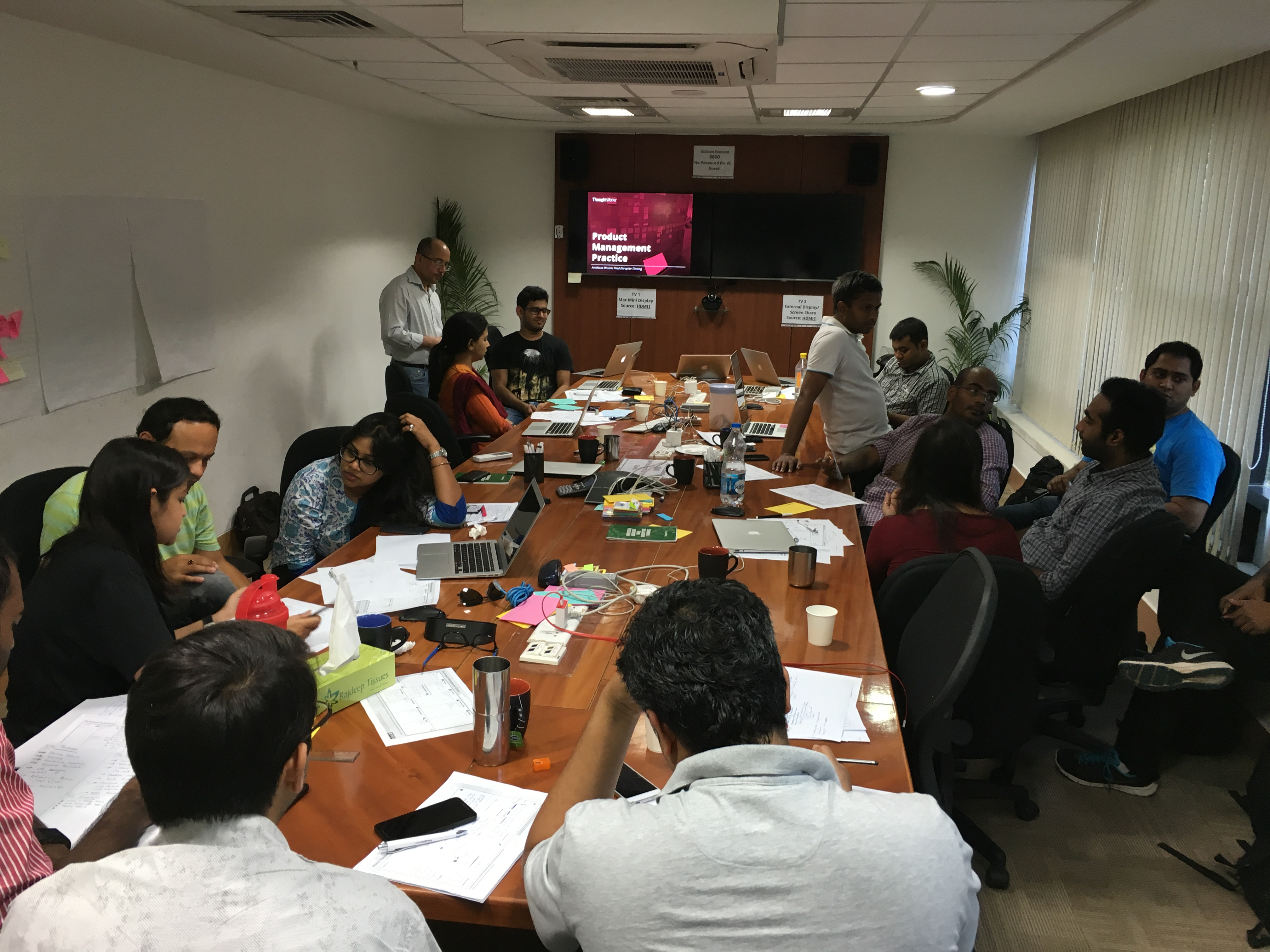 Product Management Workshop in ThoughtWorks, Bangalore