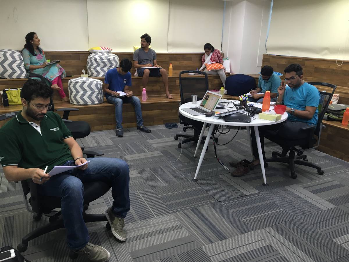 Product Management Workshop in ThoughtWorks, Hyderabad