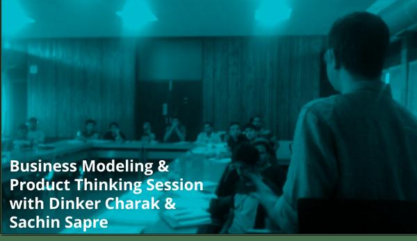 Product Thinking Sessions at IIM Ahmedabad IIMAvericks Event
