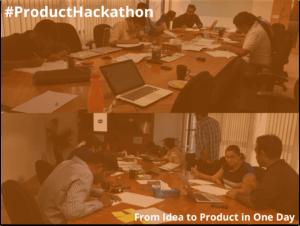 Product Hackathon – Idea to Product – Nov 5th 2016