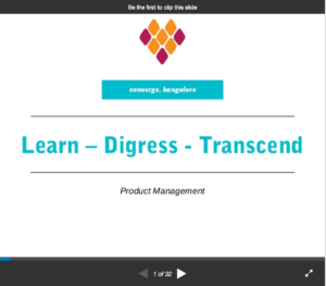 Read more about the article SlideShare: Shuhari – Learn – Digress – Transcend