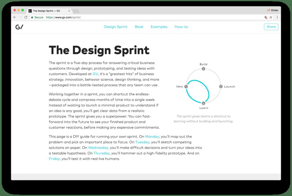 Design Dissonance Google Ventures 1
